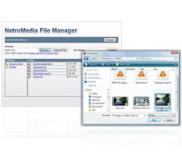 netro file manager